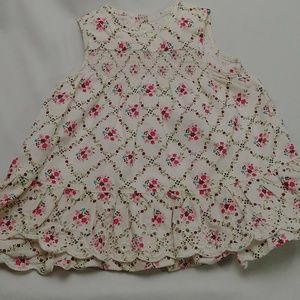 The Children's Place Girls Floral Dress 3-6m